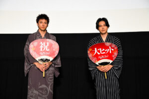 東京リベンジャーズ の映画のライブビューイングの画像。