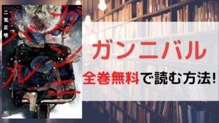 ガンニバルを全巻無料で読む方法を紹介。